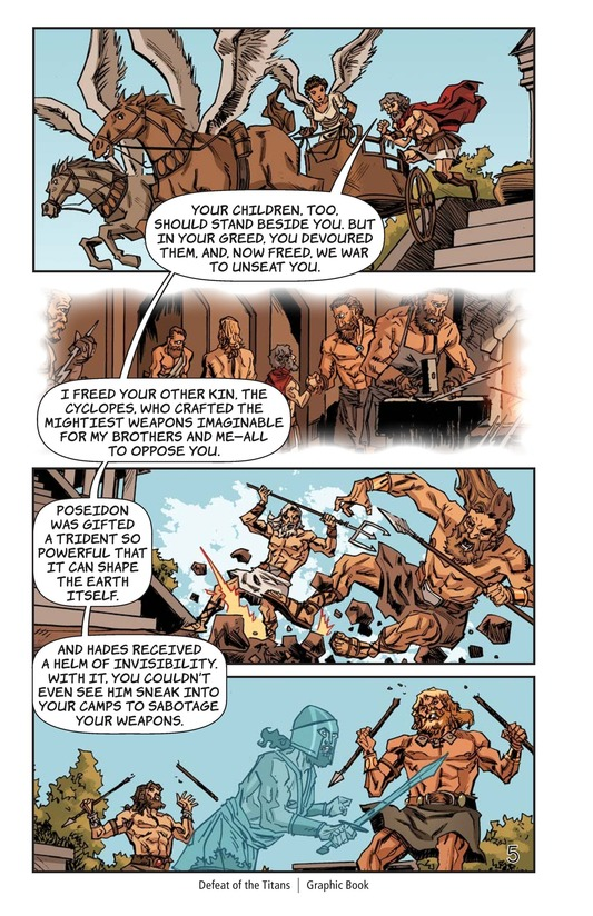 Book Preview For Defeat of the Titans Page 6