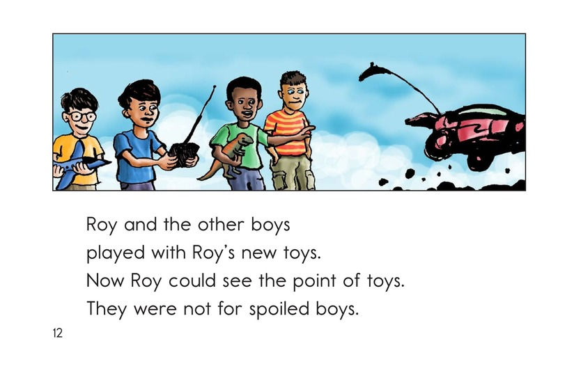 Book Preview For Toys for Boys Page 12