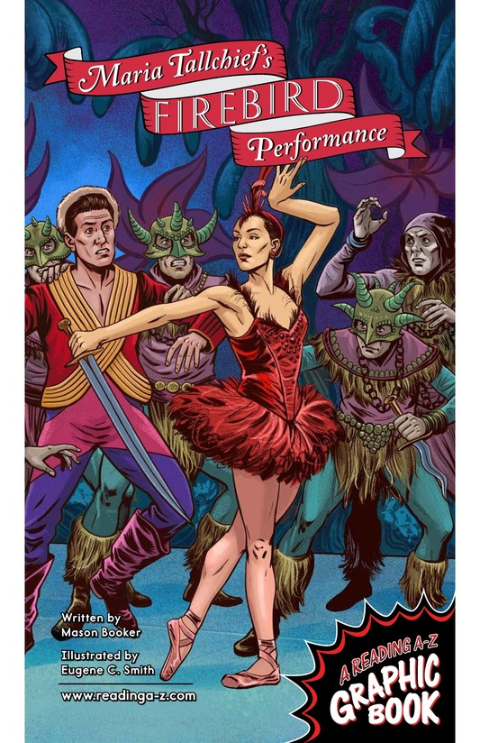 Book Preview For Maria Tallchief's Firebird Performance Page 1