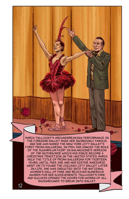 Book Preview For Maria Tallchief's Firebird Performance Page 13