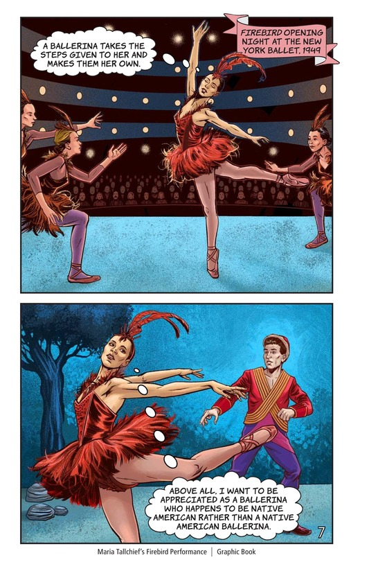 Book Preview For Maria Tallchief's Firebird Performance Page 8