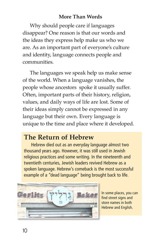 Book Preview For Vanishing Languages Page 10