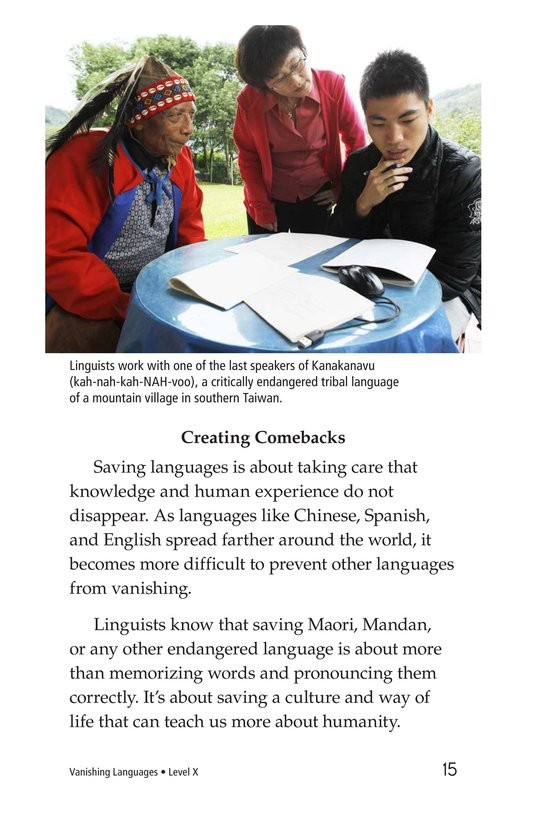 Book Preview For Vanishing Languages Page 15