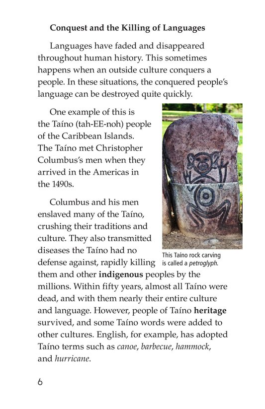 Book Preview For Vanishing Languages Page 6