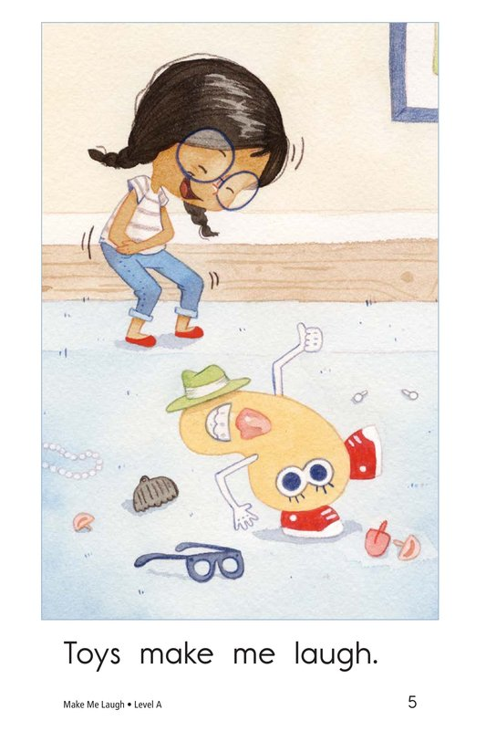 Book Preview For Make Me Laugh Page 5
