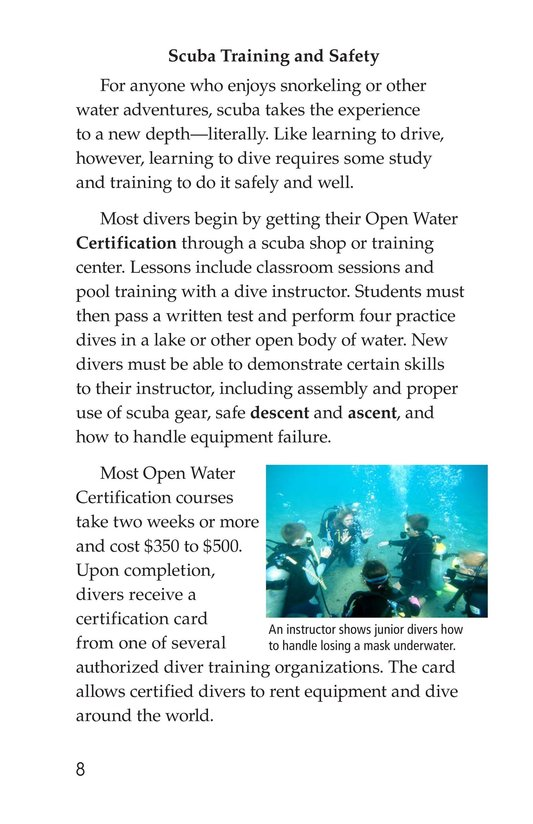 Book Preview For Scuba Page 8