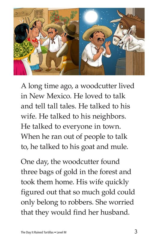 Book Preview For The Day It Rained Tortillas Page 3