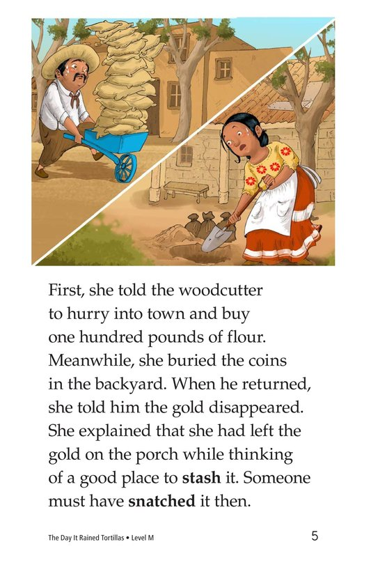 Book Preview For The Day It Rained Tortillas Page 5