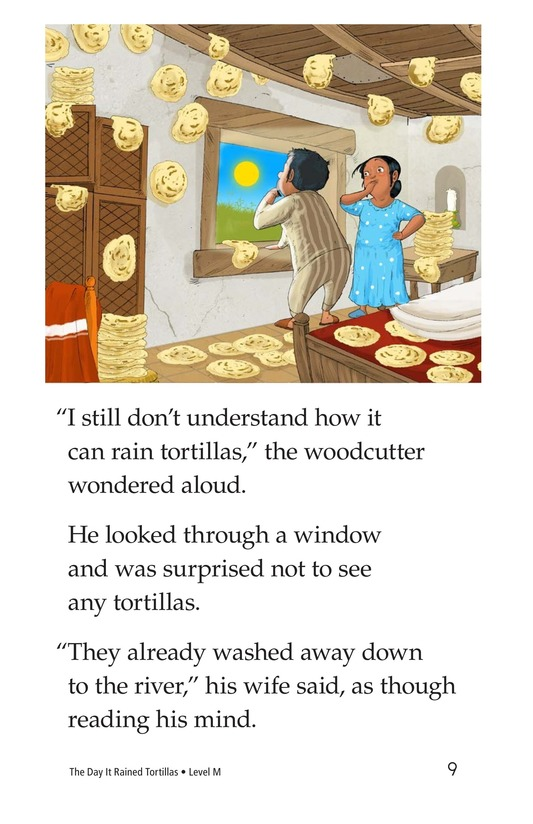 Book Preview For The Day It Rained Tortillas Page 9