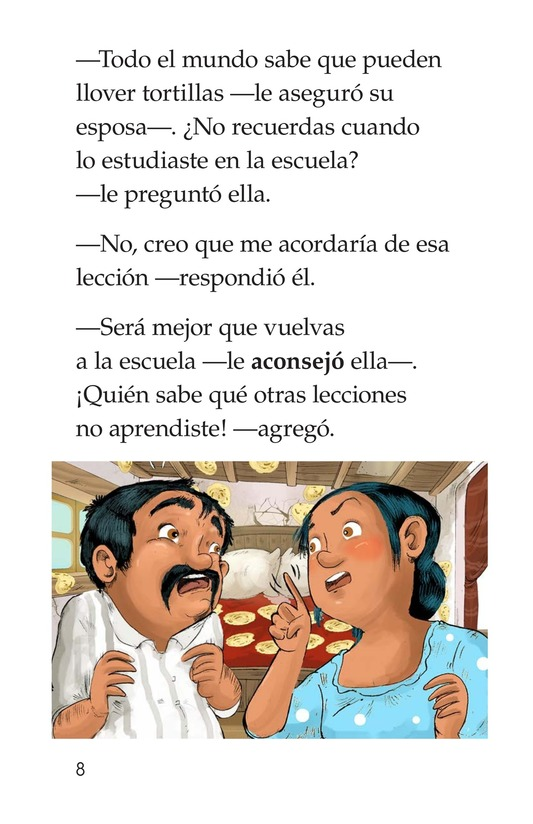 Book Preview For The Day It Rained Tortillas Page 8