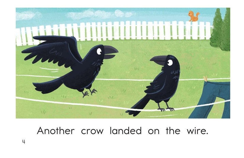 Book Preview For Crows on a Wire Page 4