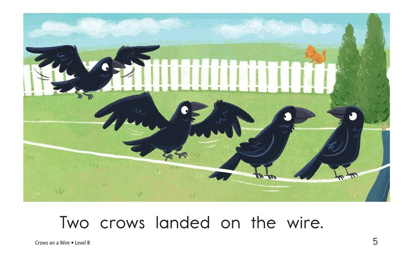 Book Preview For Crows on a Wire Page 5