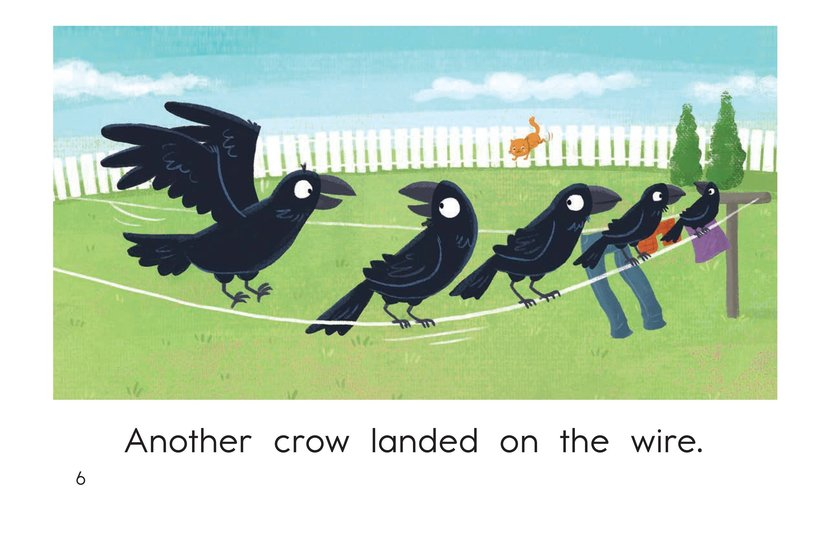Book Preview For Crows on a Wire Page 6