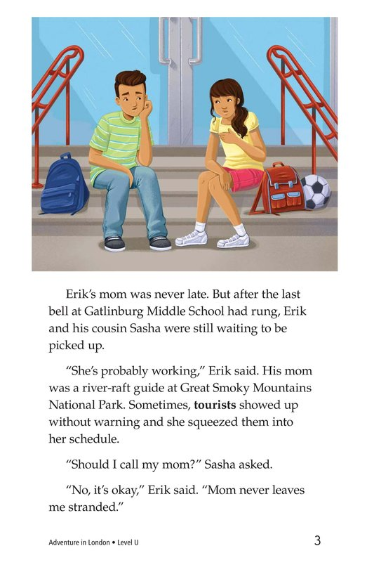 Book Preview For Adventure in London Page 3