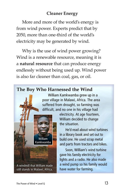 Book Preview For The Power of Wind Page 13