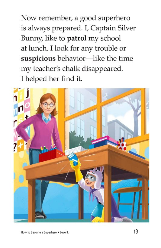 Book Preview For How to Become a Superhero Page 13