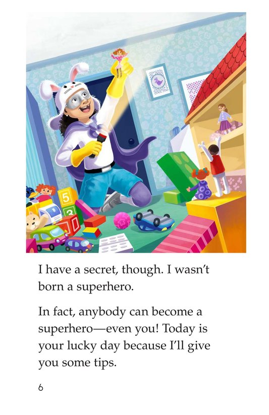 Book Preview For How to Become a Superhero Page 6