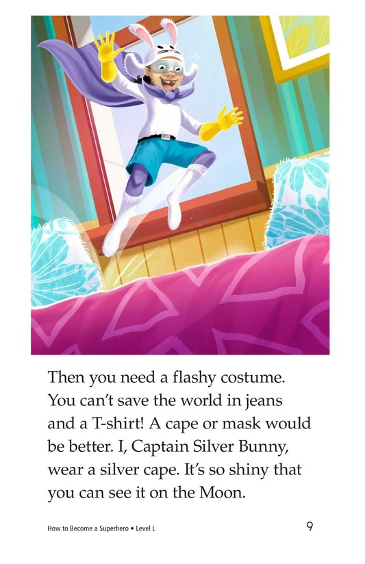 Book Preview For How to Become a Superhero Page 9