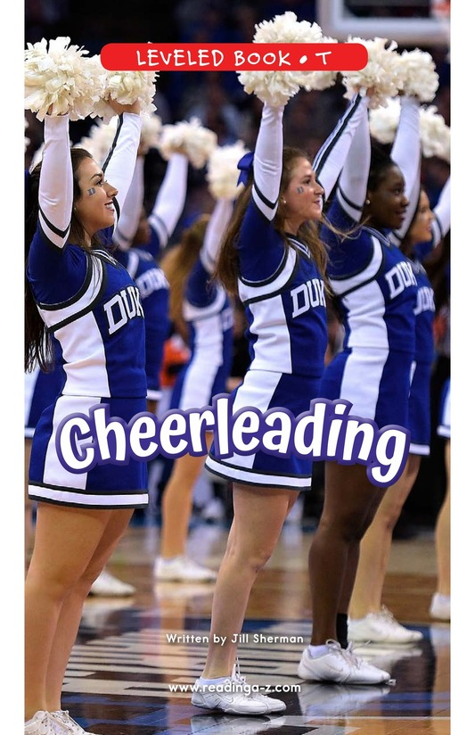 Book Preview For Cheerleading Page 0