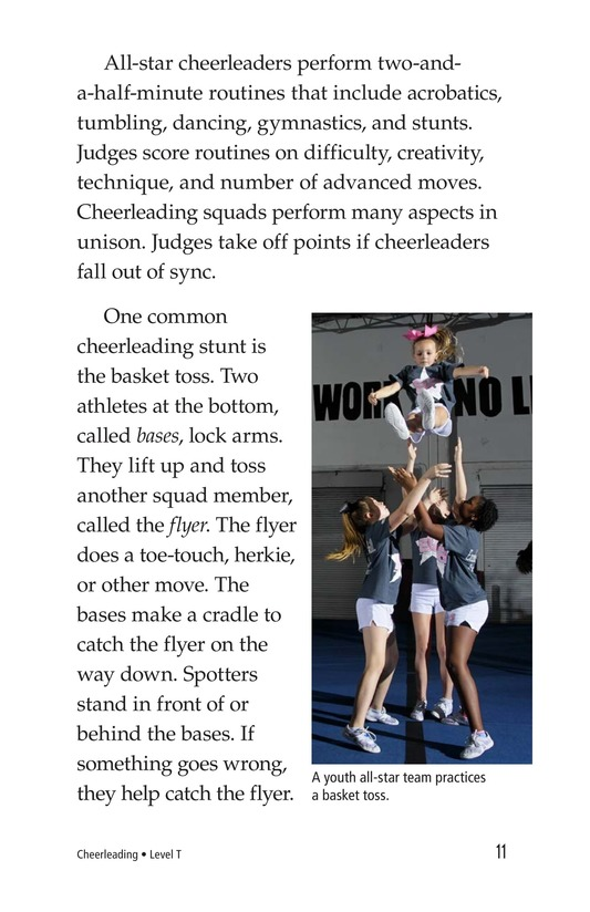 Book Preview For Cheerleading Page 11