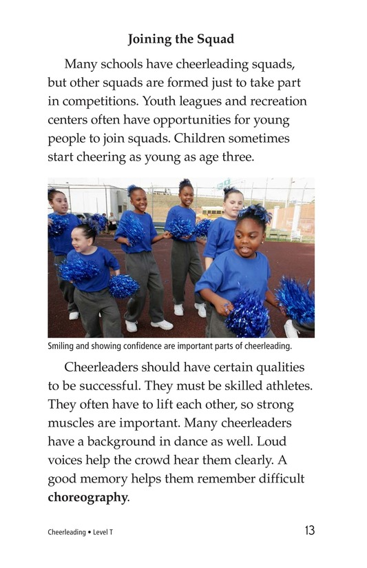 Book Preview For Cheerleading Page 13