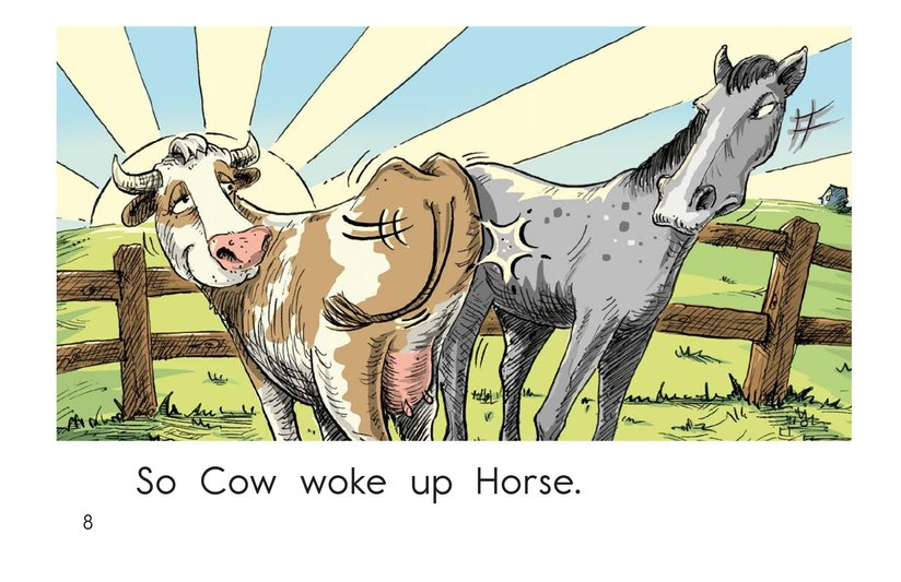 Book Preview For Wake Up, Rooster! Page 8