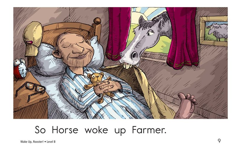 Book Preview For Wake Up, Rooster! Page 9