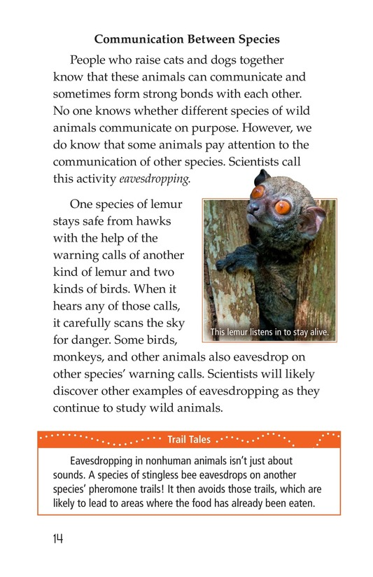 Book Preview For Animal Communication Page 14