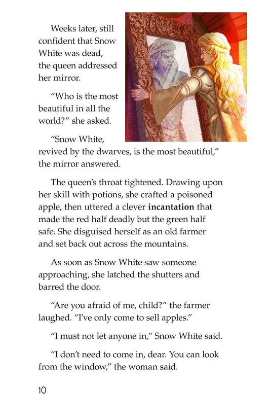 Book Preview For Snow White and the Queen Page 10