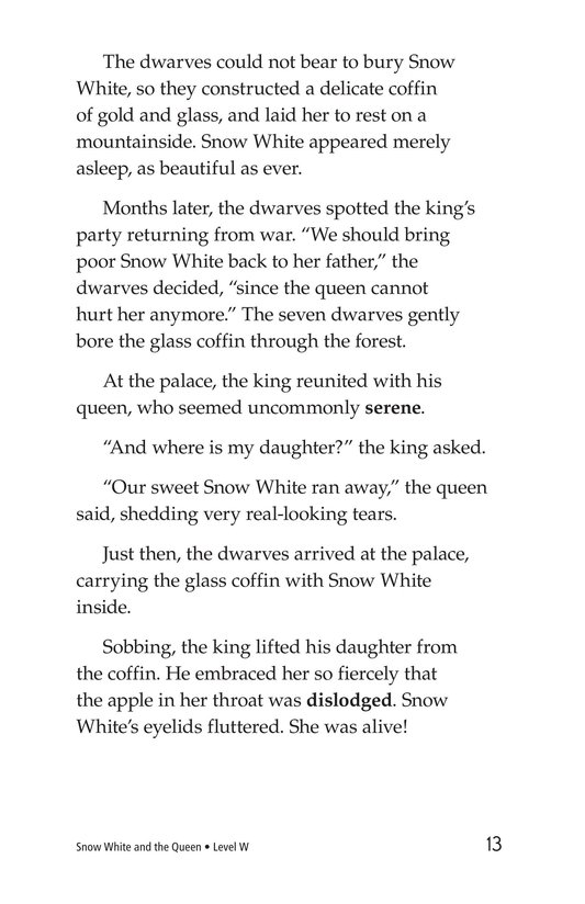 Book Preview For Snow White and the Queen Page 13
