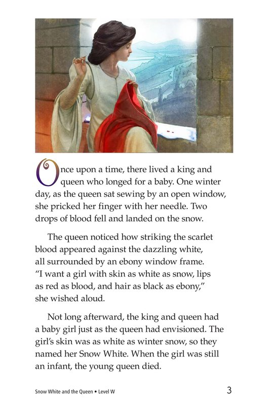 Book Preview For Snow White and the Queen Page 3