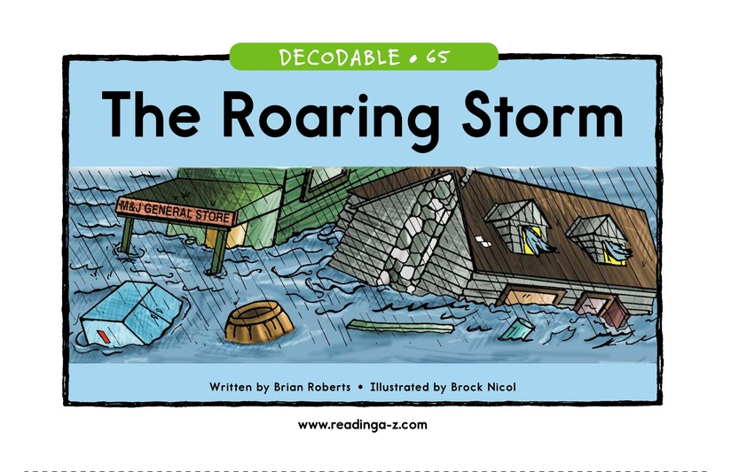 Book Preview For The Roaring Storm Page 1