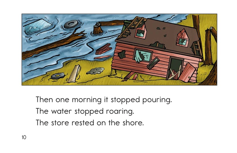 Book Preview For The Roaring Storm Page 10