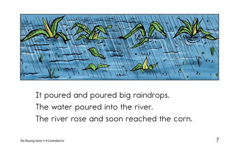 Book Preview For The Roaring Storm Page 7