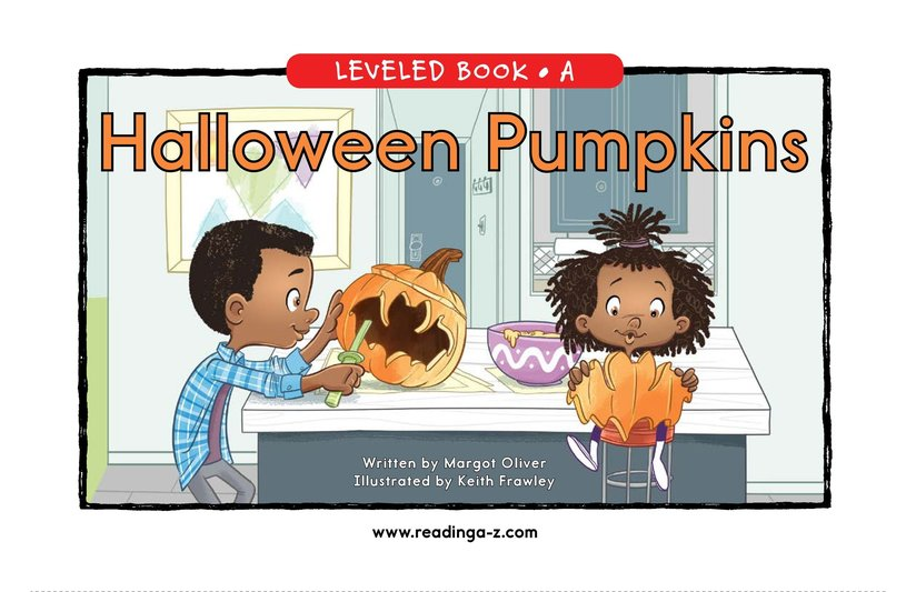 Book Preview For Halloween Pumpkins Page 0