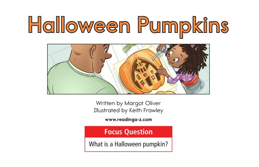 Book Preview For Halloween Pumpkins Page 1