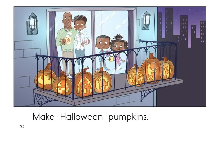Book Preview For Halloween Pumpkins Page 10
