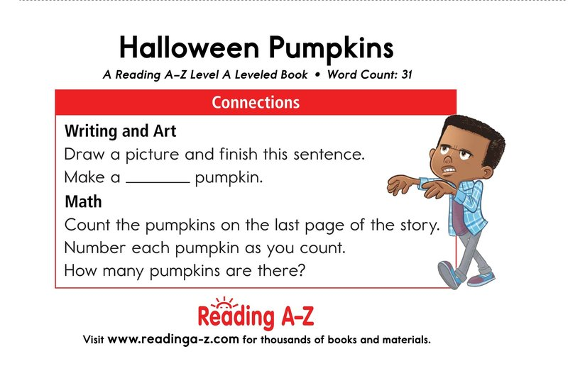 Book Preview For Halloween Pumpkins Page 11