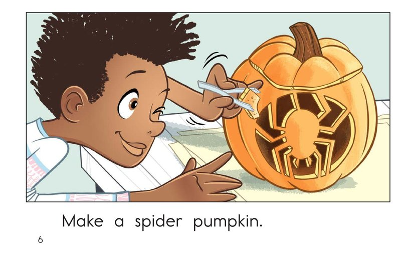 Book Preview For Halloween Pumpkins Page 6