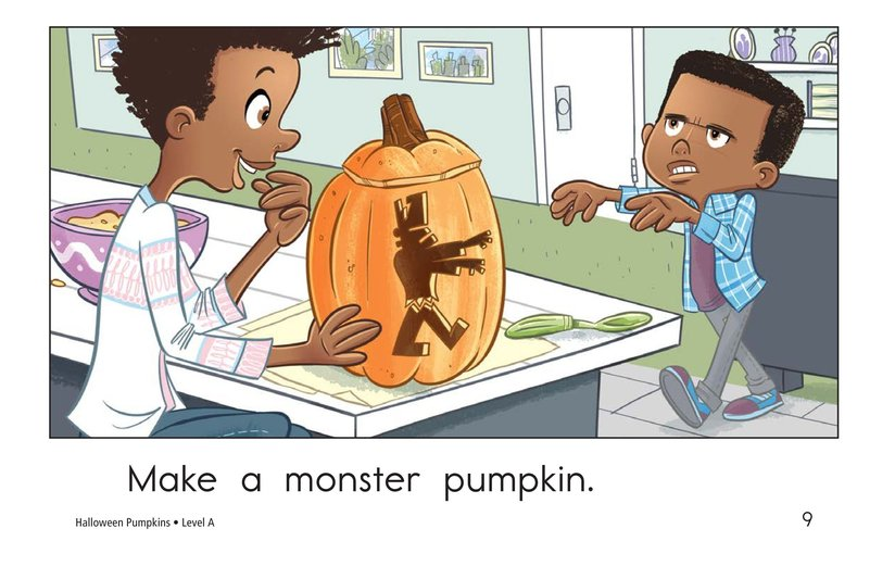 Book Preview For Halloween Pumpkins Page 9