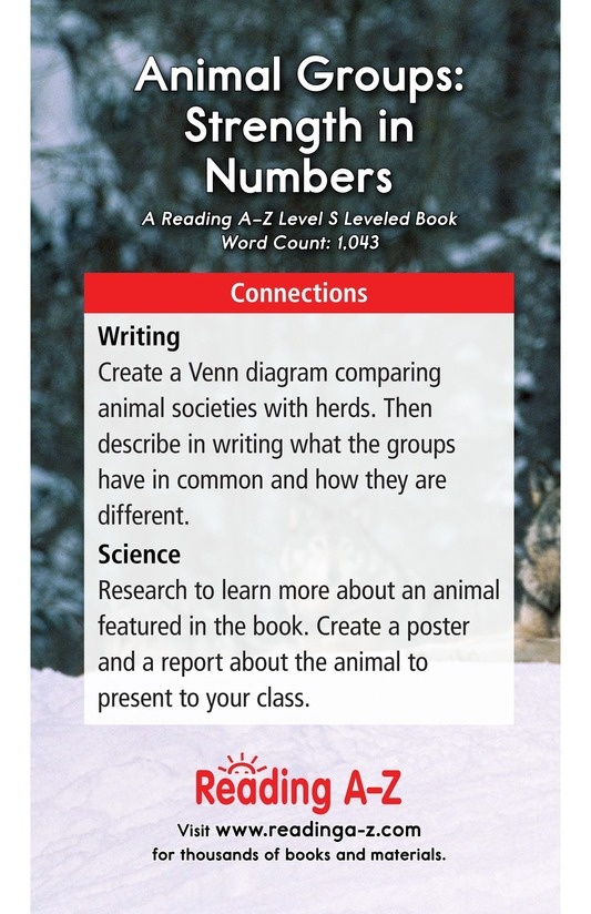 Book Preview For Animal Groups: Strength in Numbers Page 17
