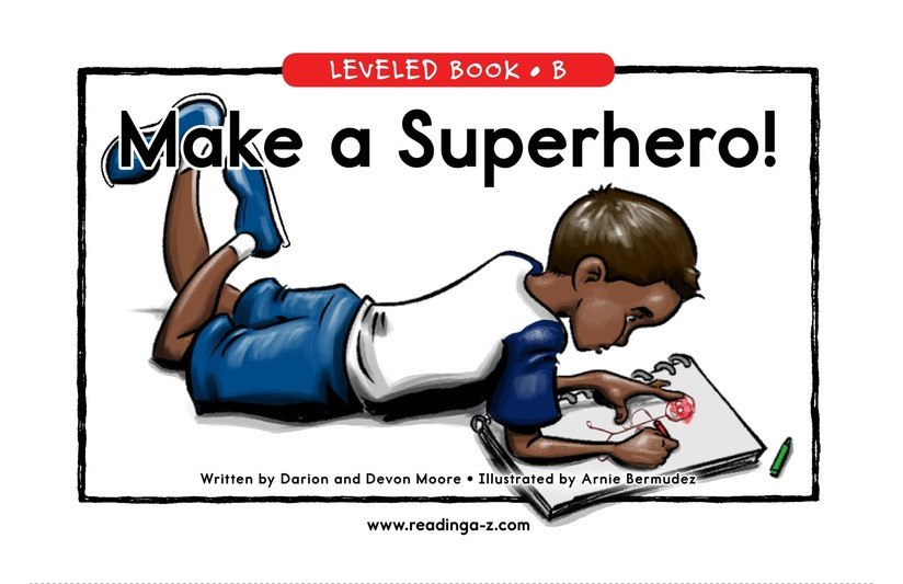 Book Preview For Make a Superhero! Page 0