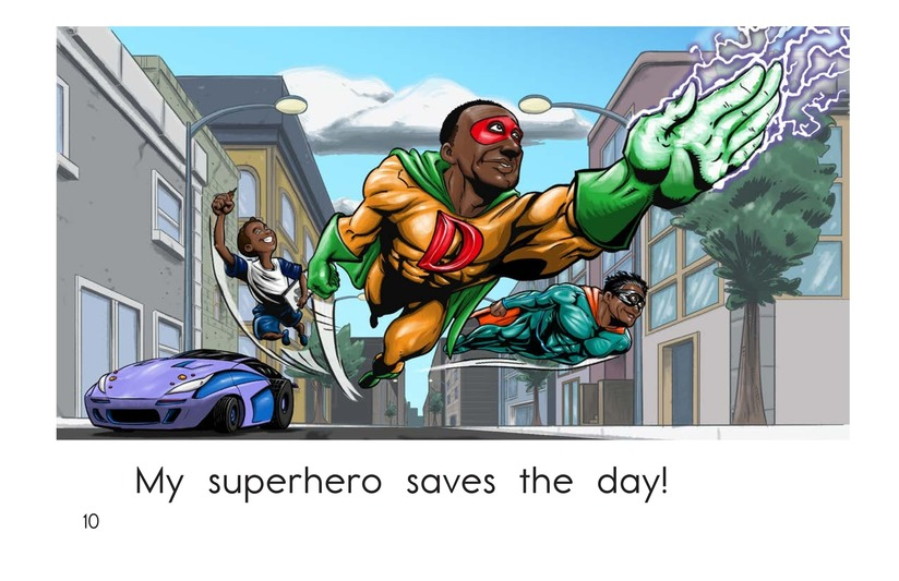 Book Preview For Make a Superhero! Page 10