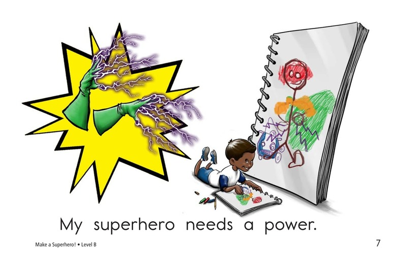 Book Preview For Make a Superhero! Page 7