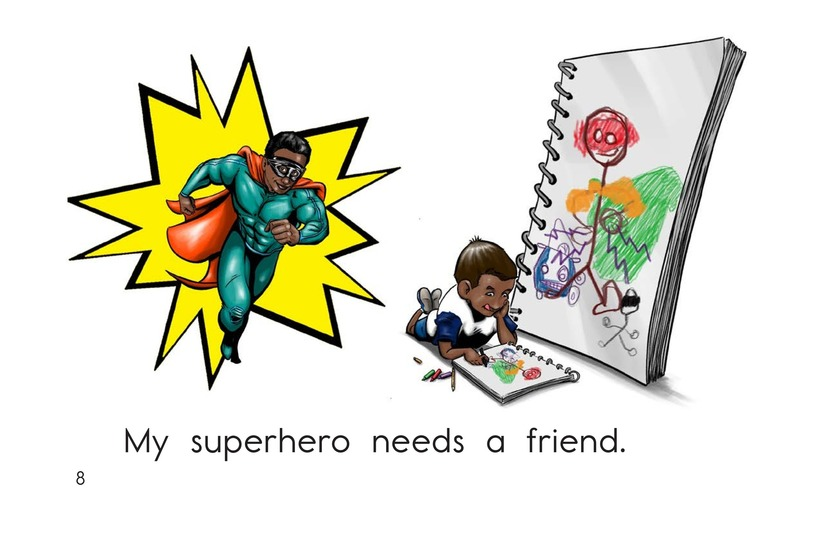 Book Preview For Make a Superhero! Page 8