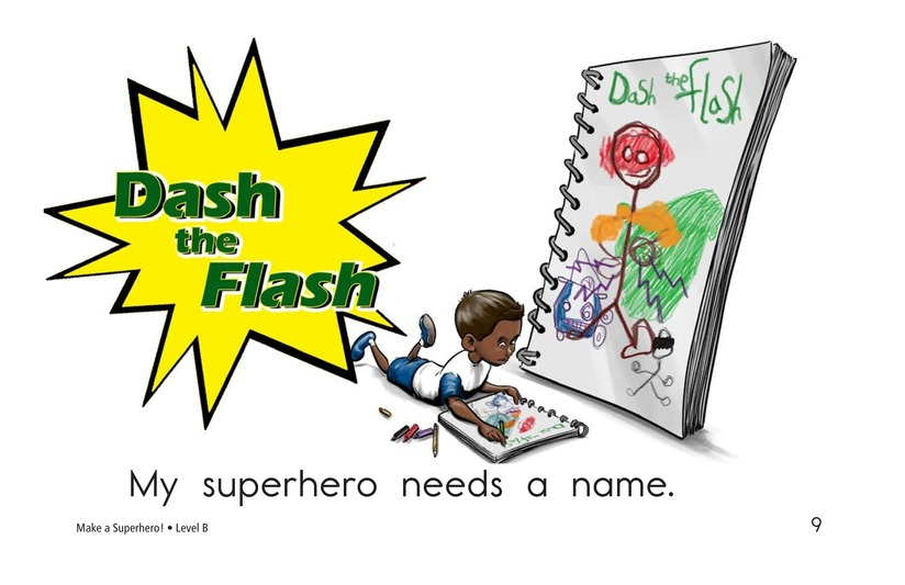 Book Preview For Make a Superhero! Page 9