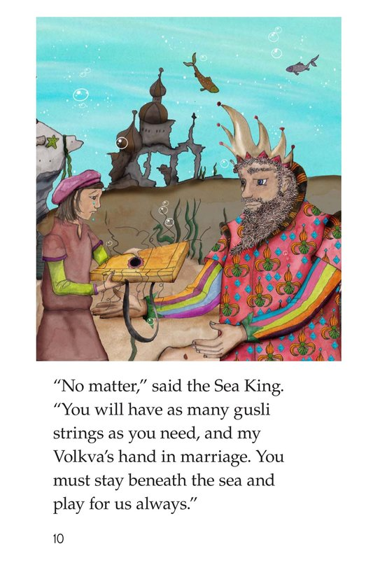 Book Preview For Sadko and the Sea Kingdom Page 10