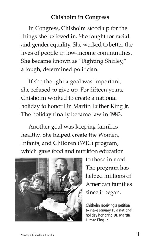 Book Preview For Shirley Chisholm Page 11
