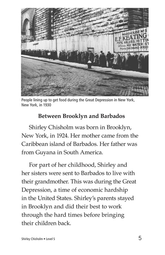 Book Preview For Shirley Chisholm Page 5