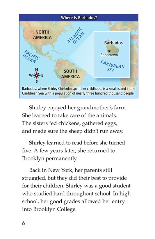 Book Preview For Shirley Chisholm Page 6